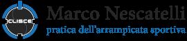 Marco Nescatelli - pratica dell'arrampicata sportiva